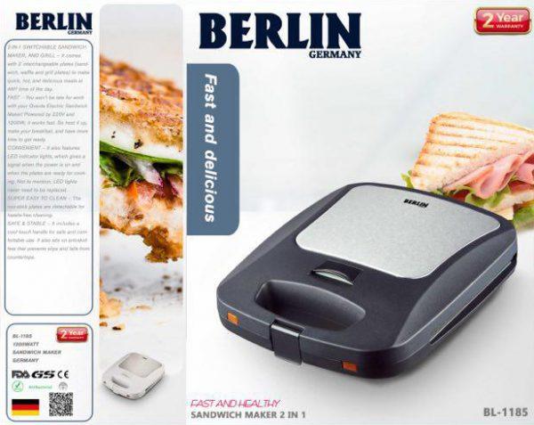 ساندویچ میکر دو کاره گرانیتی برلین